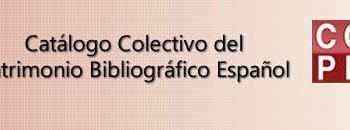 Proyectos destacados Abana: Catálogo Colectivo de Patrimonio Bibliográfico Español (CCPB)