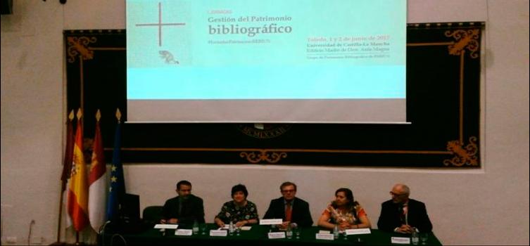 I Jornadas Gestión del Patrimonio Bibliográfico